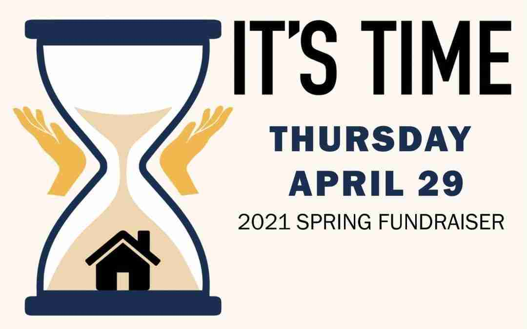 It's Time Spring Fundraiser